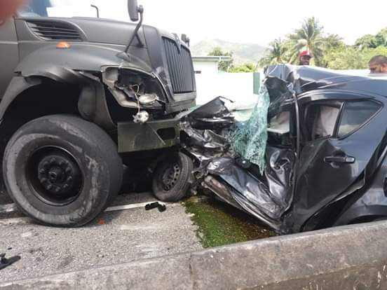 Fatal crash on PBR in Tunapuna | 103FM: First, Finest, Forever