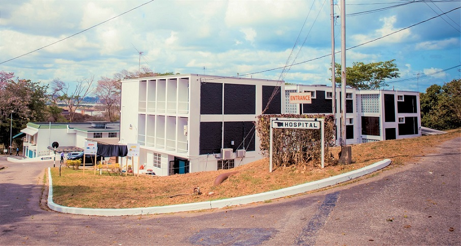 Former Petrotrin hospital ready for COVID-19 patients - 103FM: First,  Finest, Forever